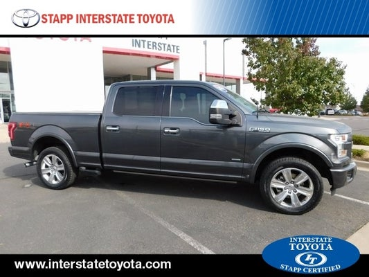 2016 ford f 150 platinum in frederick co longmont ford f 150 stapp interstate toyota 2016 ford f 150 platinum